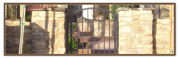 iron courtyard gates sacramento
